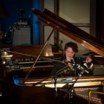 Amanda Palmer on the grand piano