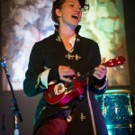 Amanda Palmer on the ukelele