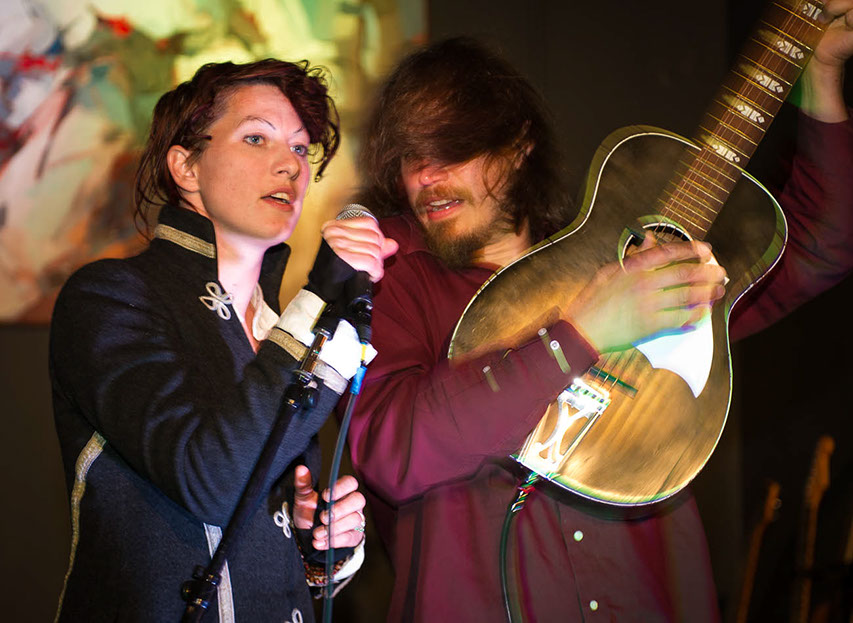 Amanda Palmer and Jason Webley