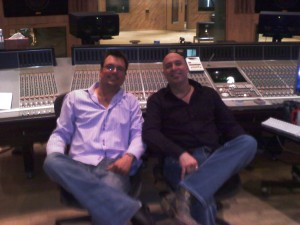 Kelly and I console 300x225 Social Media For Musicians According To Daredevil Johnny Dwinell