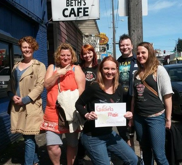 Beths Cafe With The GoGirls Case Study: Mary Bue And The Studio Run Kickstarter