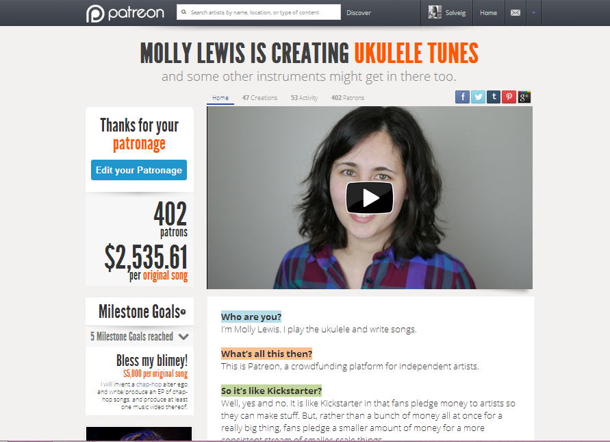 Seattle Musician Molly Lewis On Going Viral, Social Media