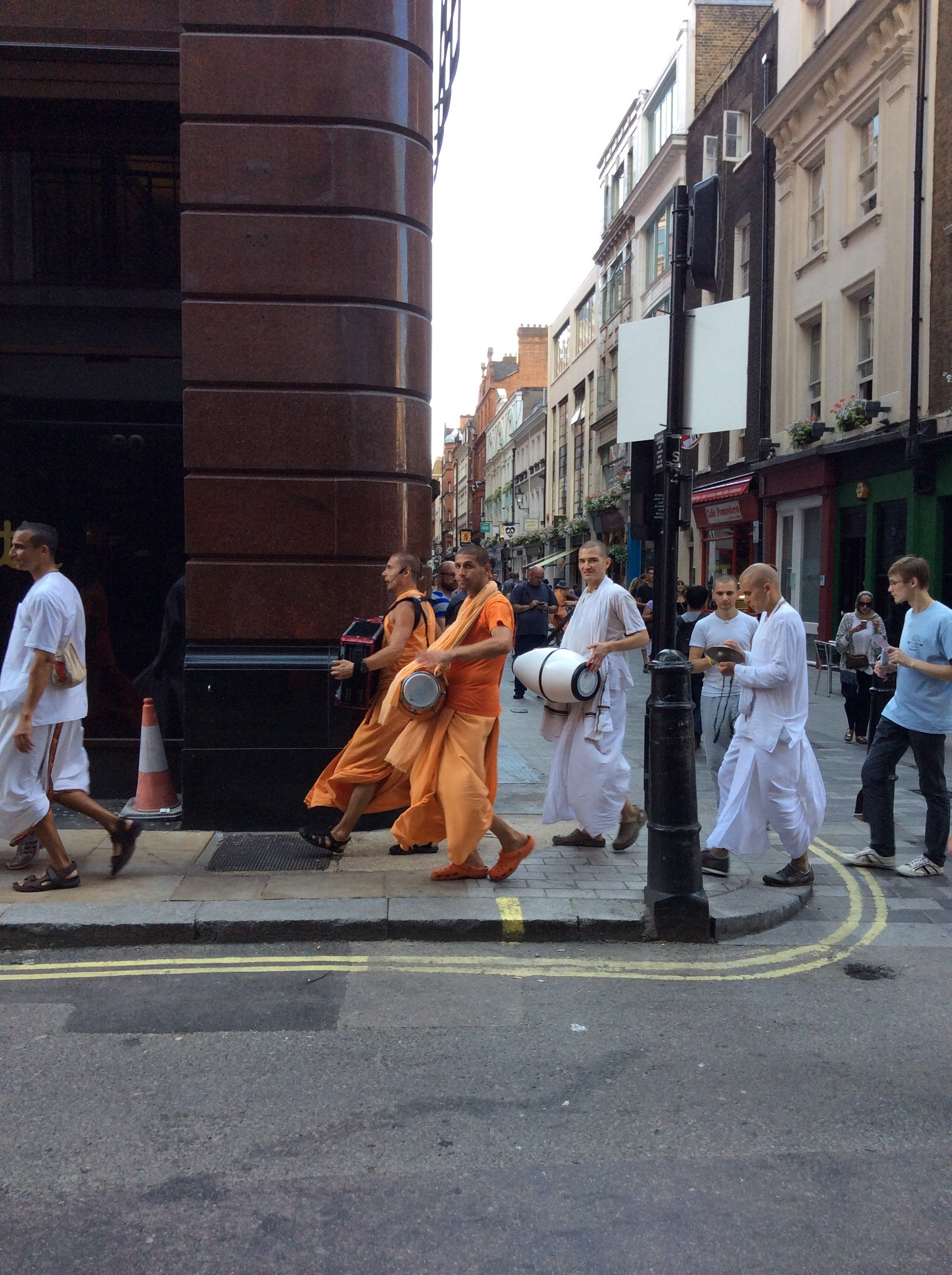 Hare Krishnas London