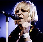 Sia performing photo by Kris Krug