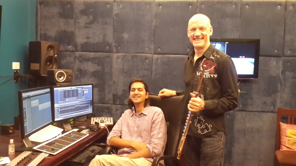 Rick and Wouter in Studio