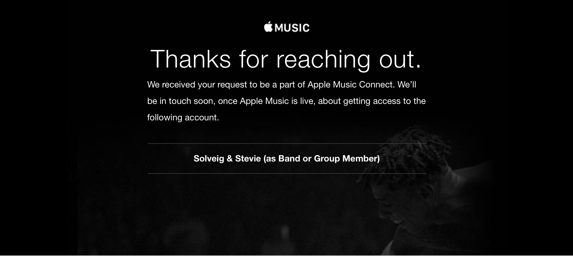Thanks for Reaching Out Apple