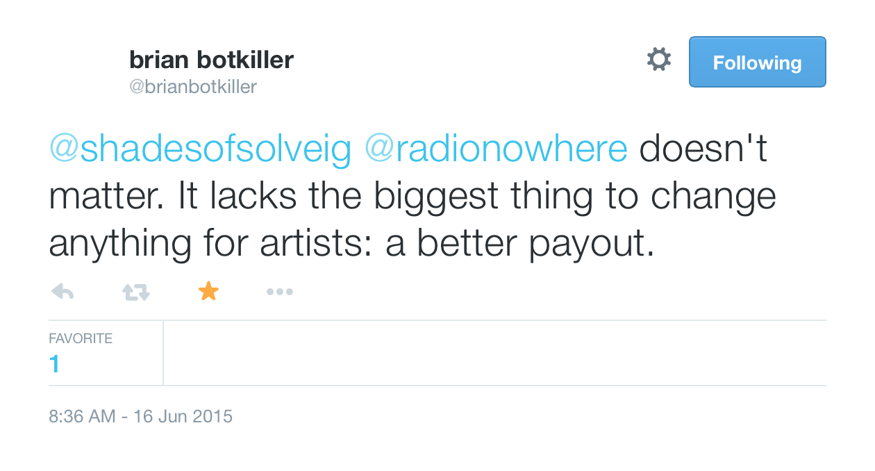It Lacks The Payout Brian Botkiller